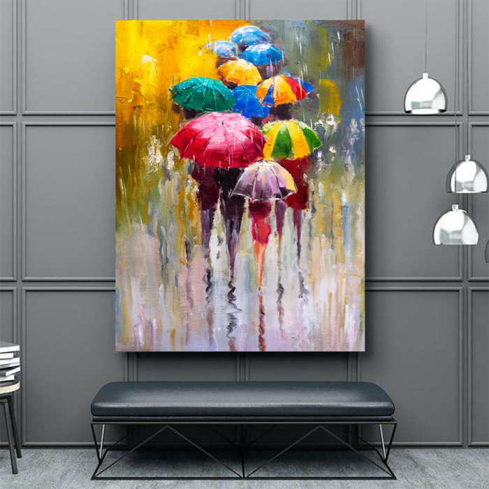 Tablou Canvas - Rainy Day [3]