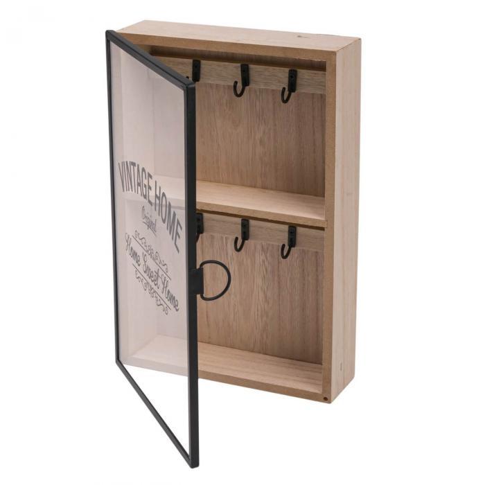 Suport din lemn pentru chei - 20x6x30cm [2]
