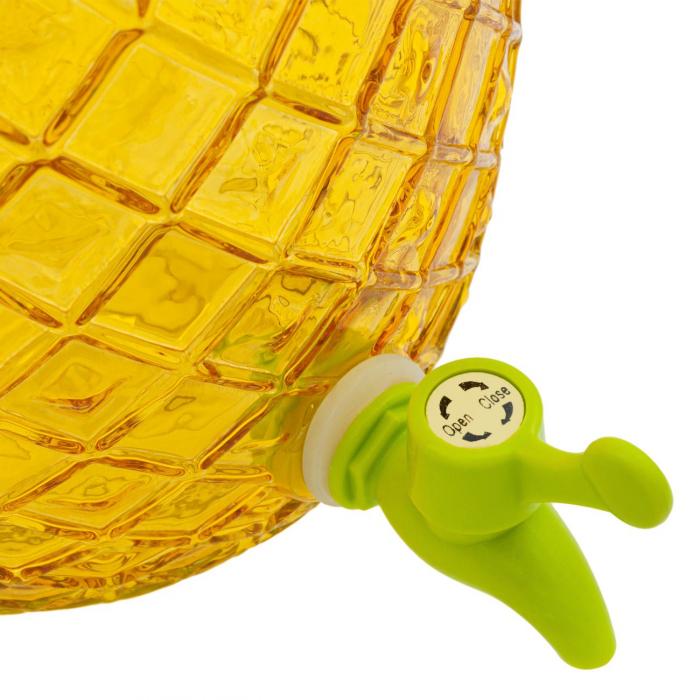 Recipient pentru lichide din sticlă-Ananas.4 L [1]