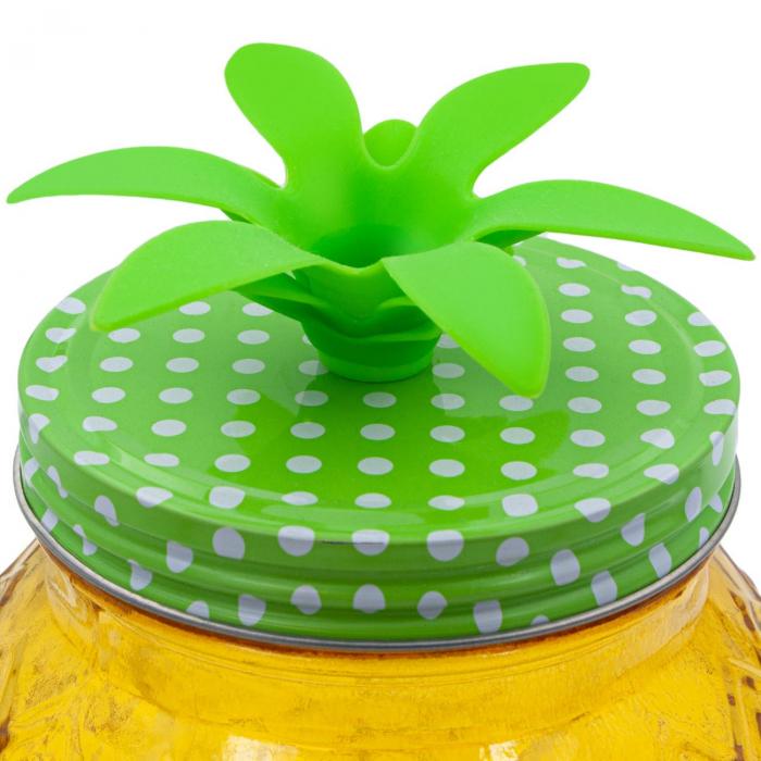 Recipient pentru lichide din sticlă-Ananas.4 L [2]