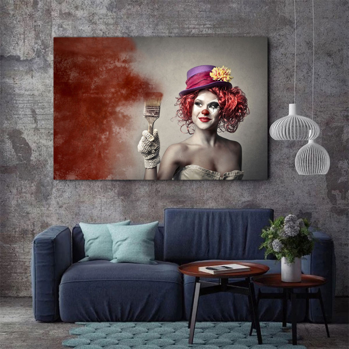 Tablou Canvas - Clown Style 2