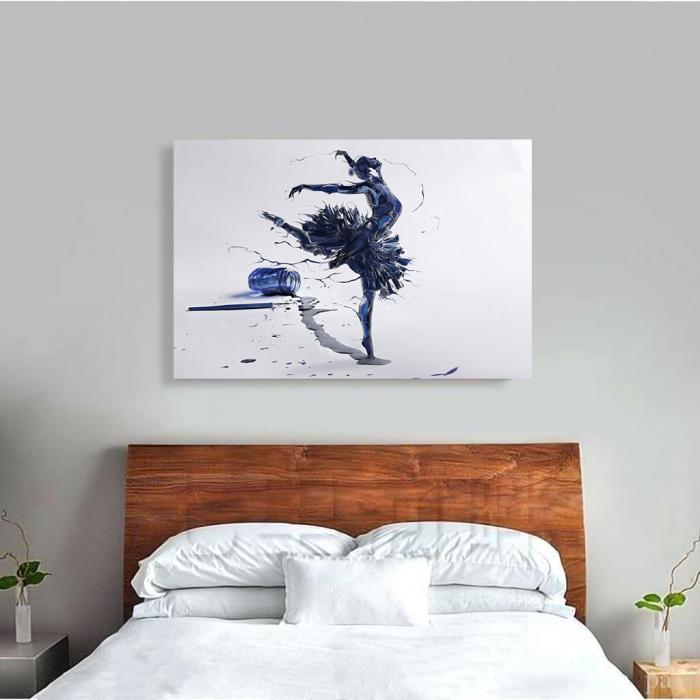 Tablou Canvas - Inked Balerina [3]