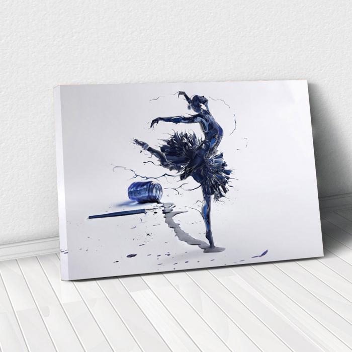 Tablou Canvas - Inked Balerina [0]