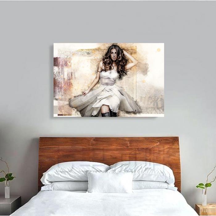 Tablou Canvas - Realistic sketch 1