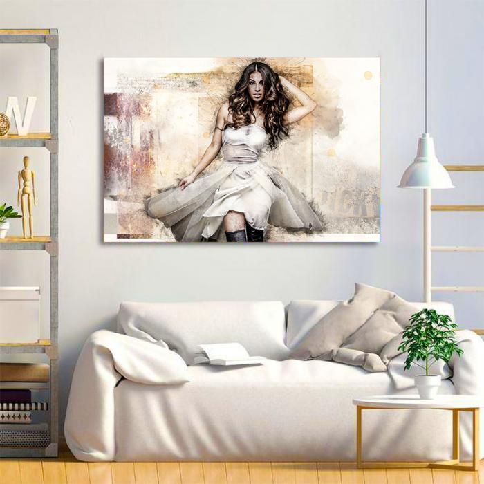 Tablou Canvas - Realistic sketch 2