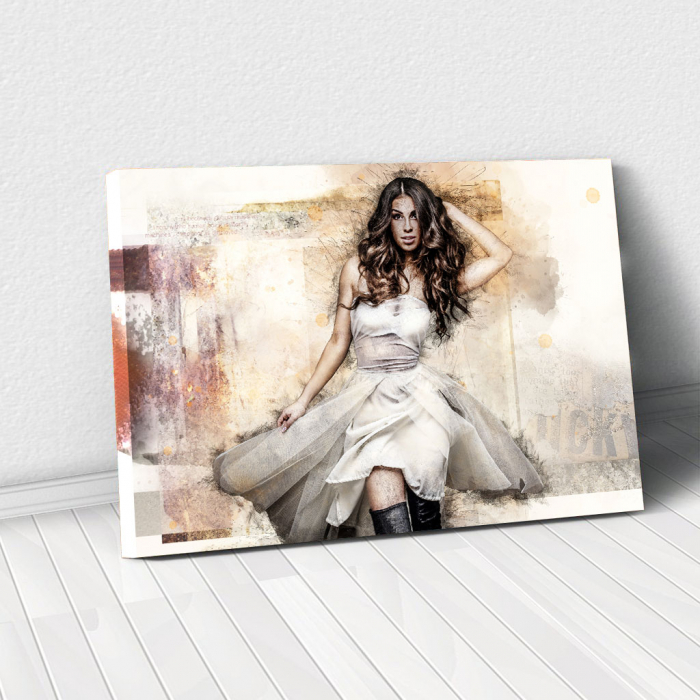 Tablou Canvas - Realistic sketch 0