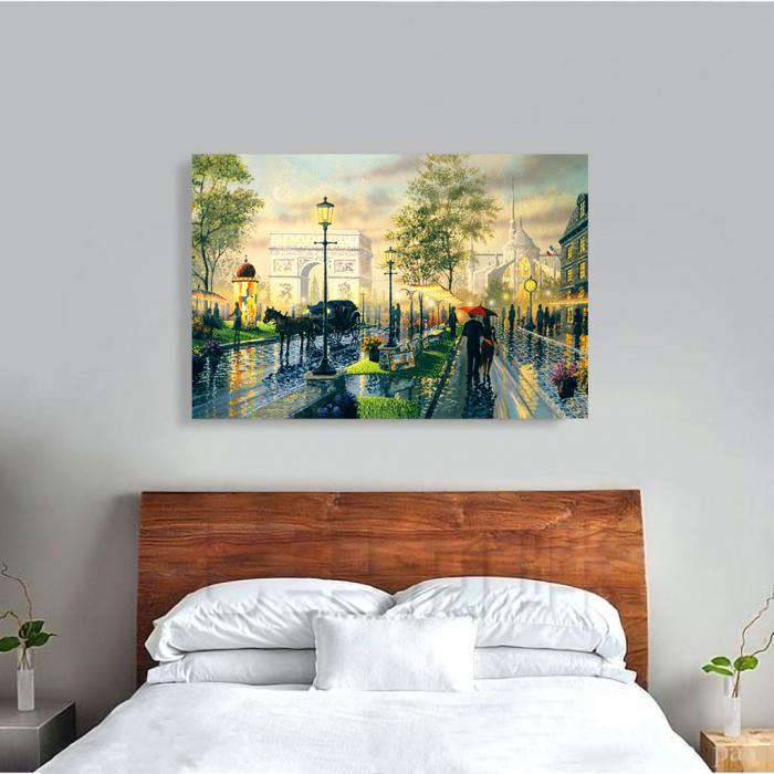 Tablou Canvas - Romantic walk 1