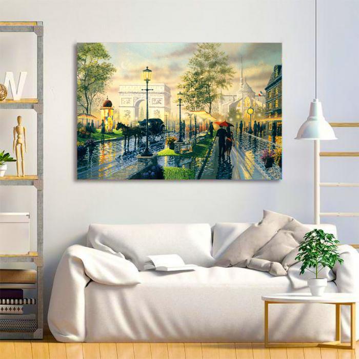 Tablou Canvas - Romantic walk 2