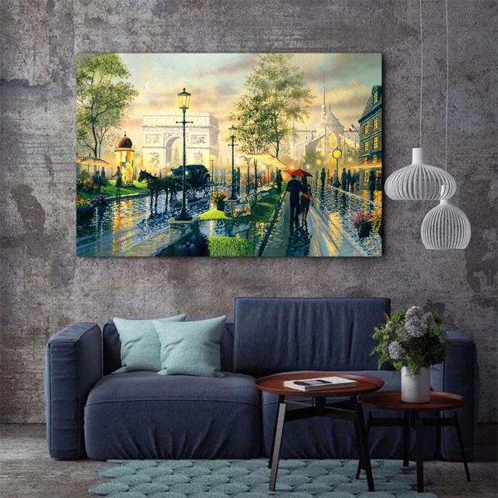 Tablou Canvas - Romantic walk 3