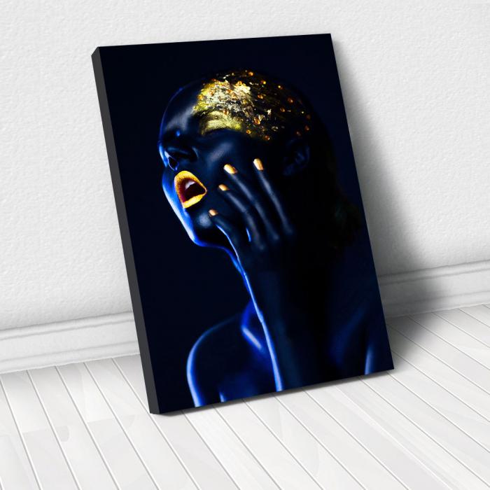 Tablou Canvas - Body paint 0