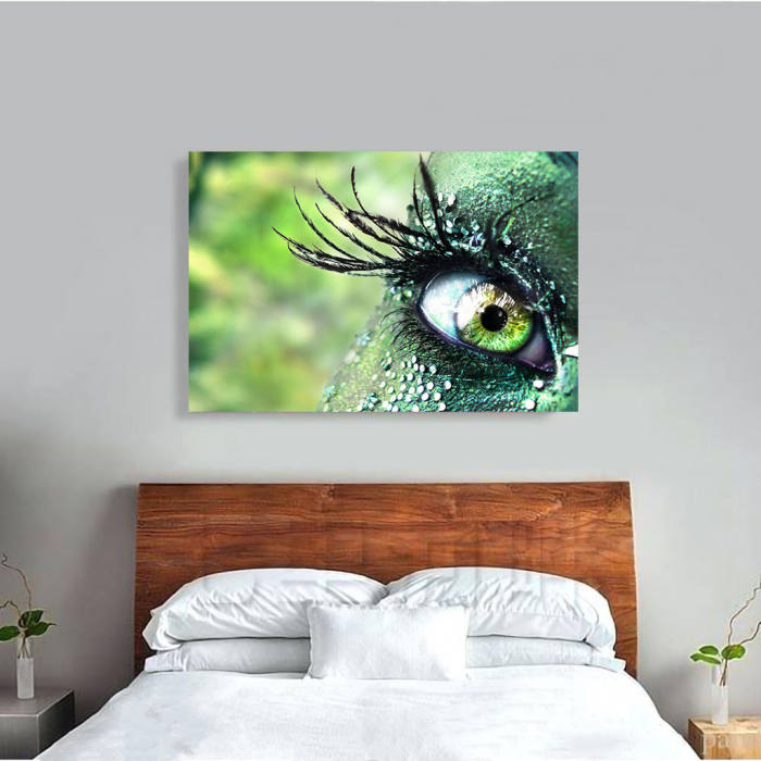 Tablou Canvas - Mirific Eye 2