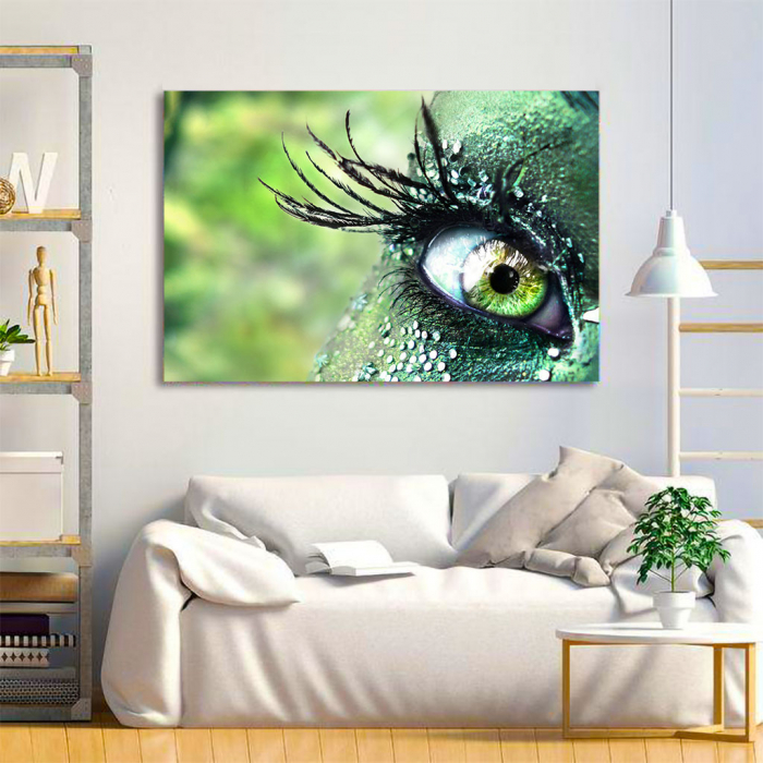 Tablou Canvas - Mirific Eye 3