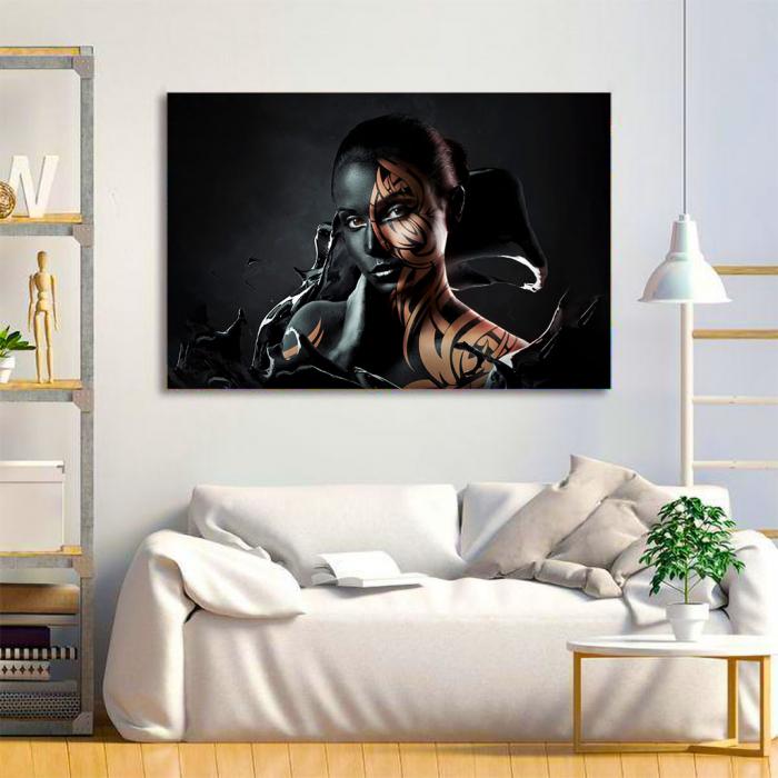 Tablou Canvas - Black style 1