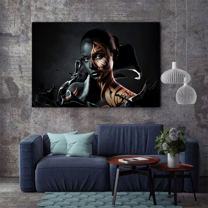 Tablou Canvas - Black style [2]