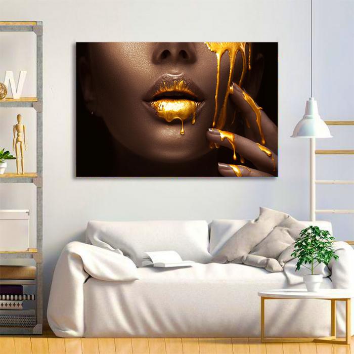 Tablou Canvas - Golden need 1