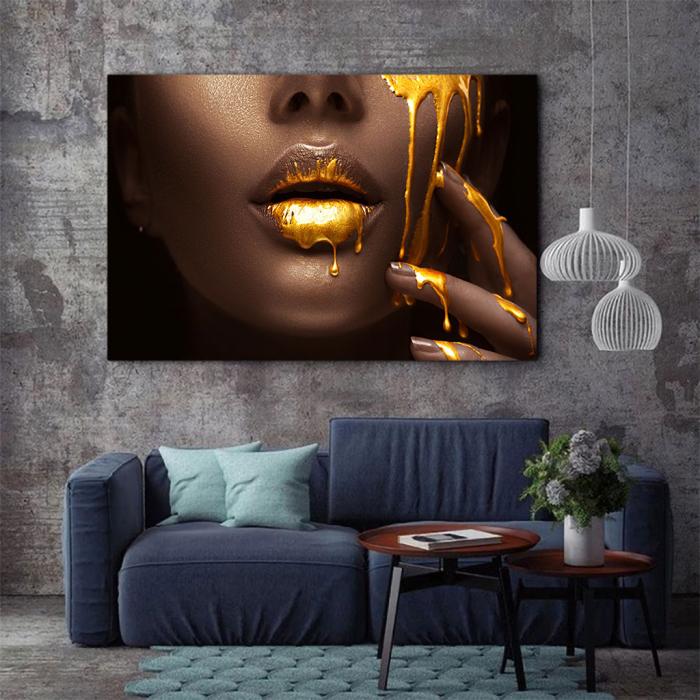 Tablou Canvas - Golden need 2