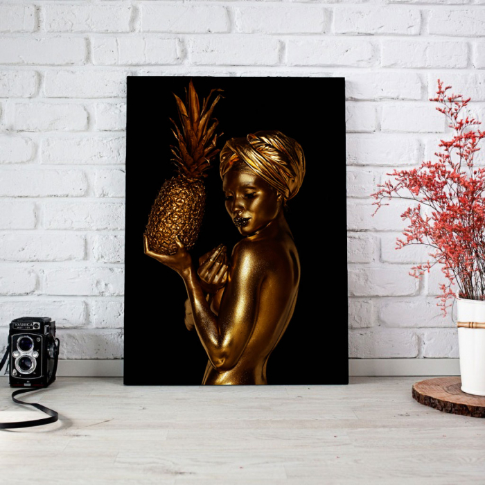 Tablou Canvas - African Gold 2 2