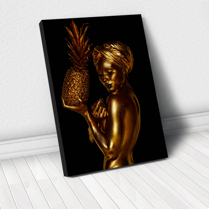 Tablou Canvas - African Gold 2 0