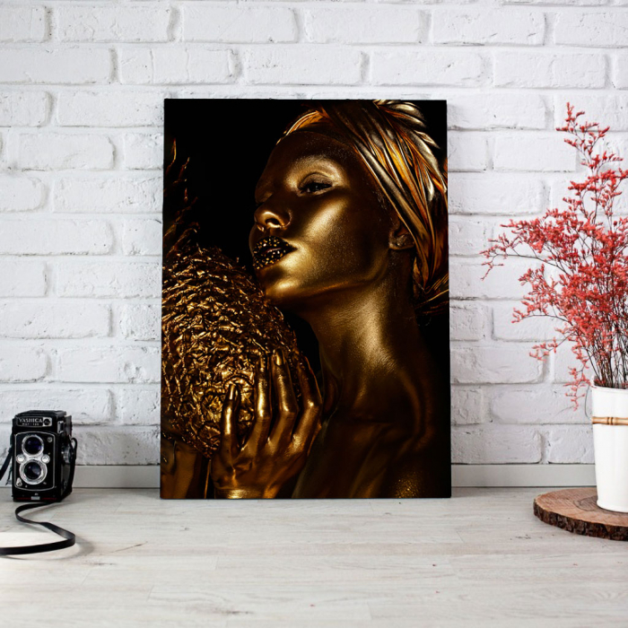 Tablou Canvas - African Gold 3 2