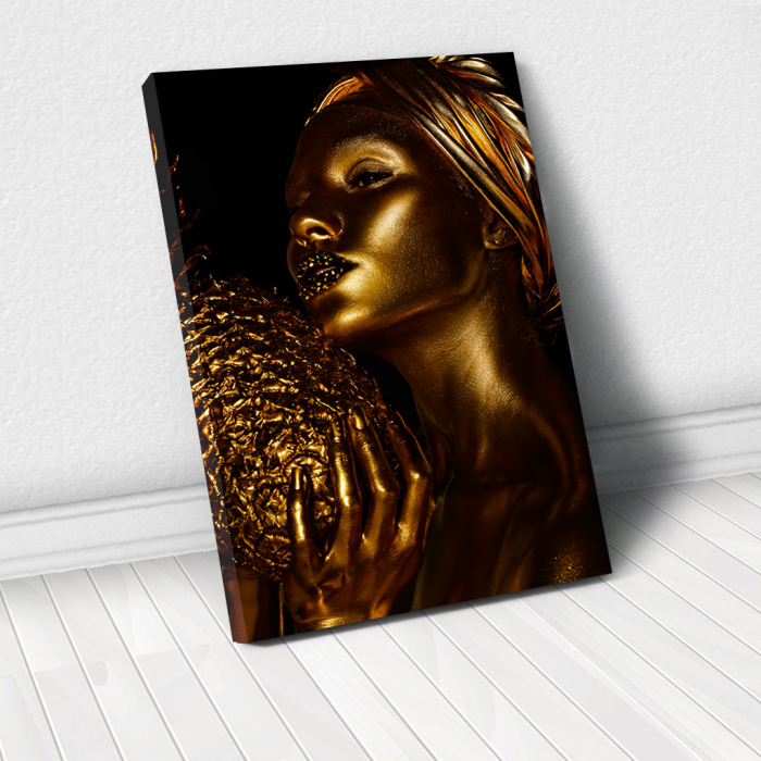 Tablou Canvas - African Gold 3 0