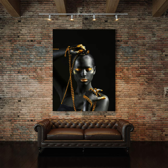 Tablou Canvas - Gold in new style 2
