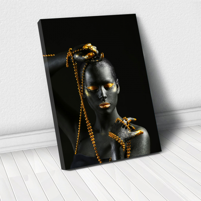 Tablou Canvas - Gold in new style 0