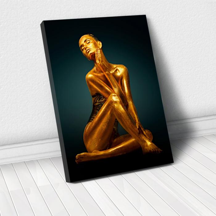 Tablou Canvas - Golden Pose [0]