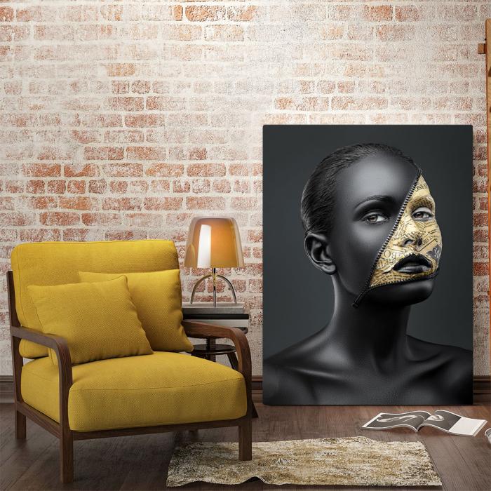 Tablou Canvas - News face 1