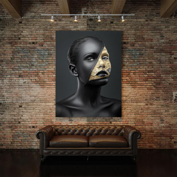 Tablou Canvas - News face 2