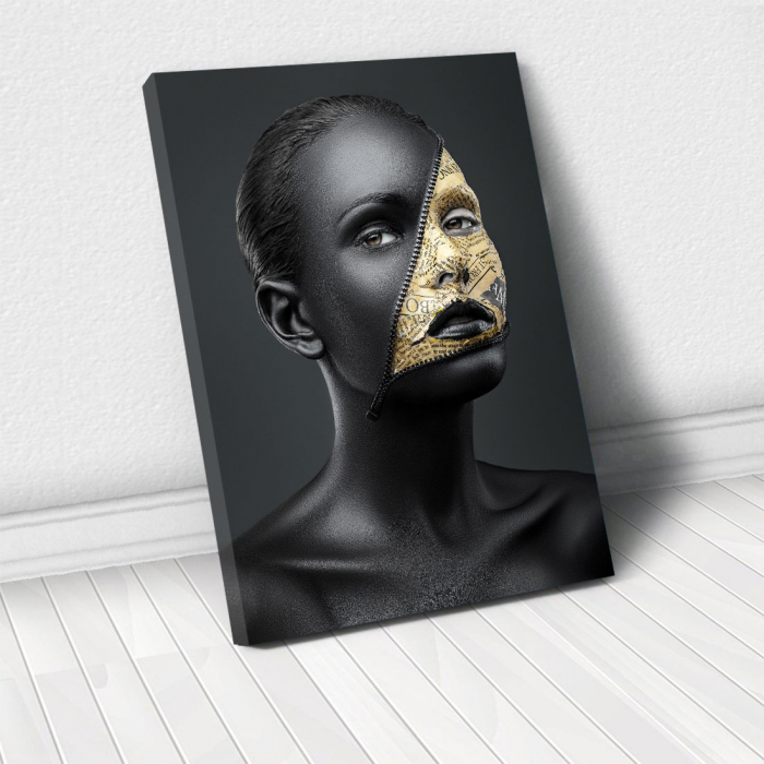 Tablou Canvas - News face 0