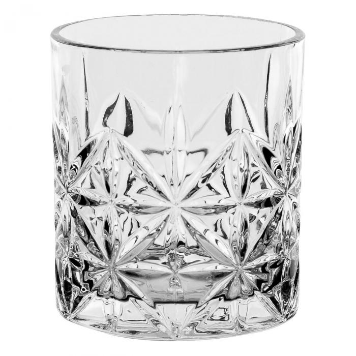 Set de 3 pahare din sticlă,pentru whisky,330 ml 1