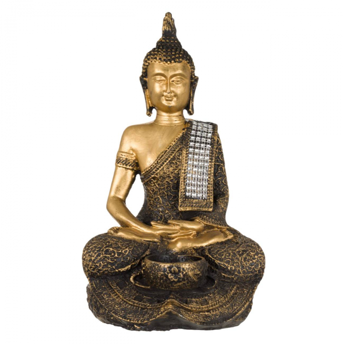 Suport lumânare Buddha -29cm 0