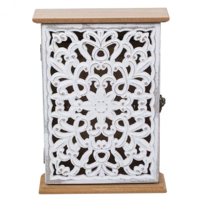 Suport din lemn pentru chei - 18.5x6x26cm 0