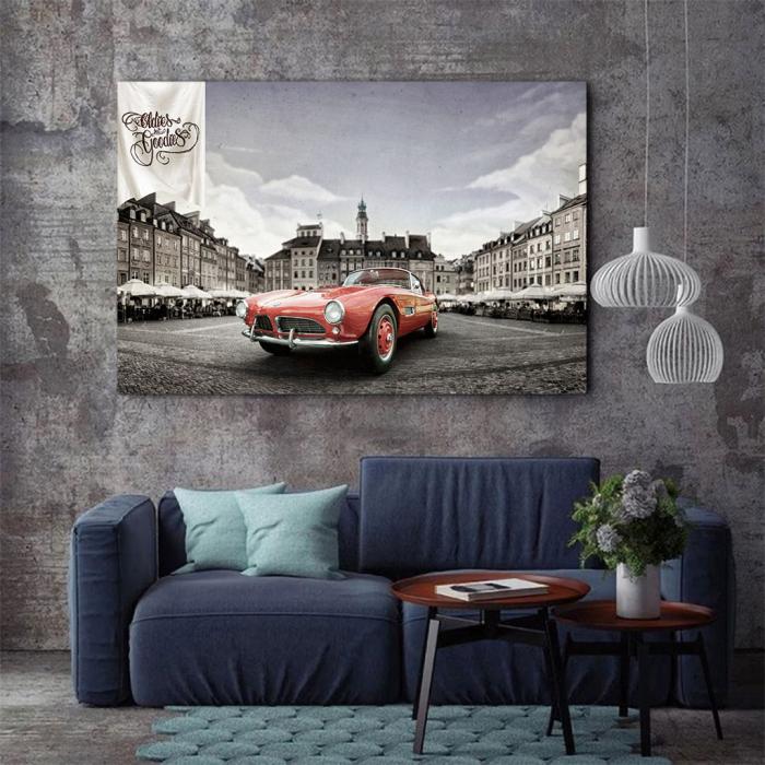 Tablou Canvas - Bmw 507 coupe 2