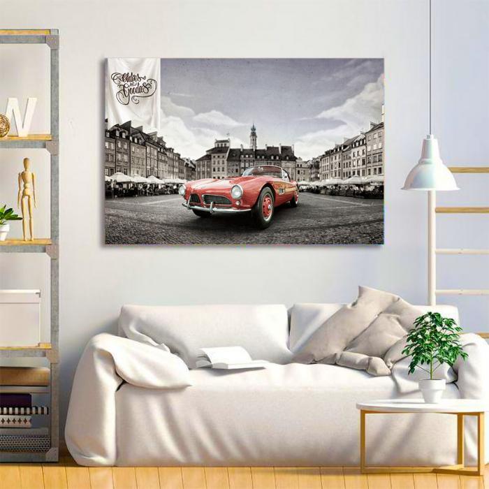 Tablou Canvas - Bmw 507 coupe 3