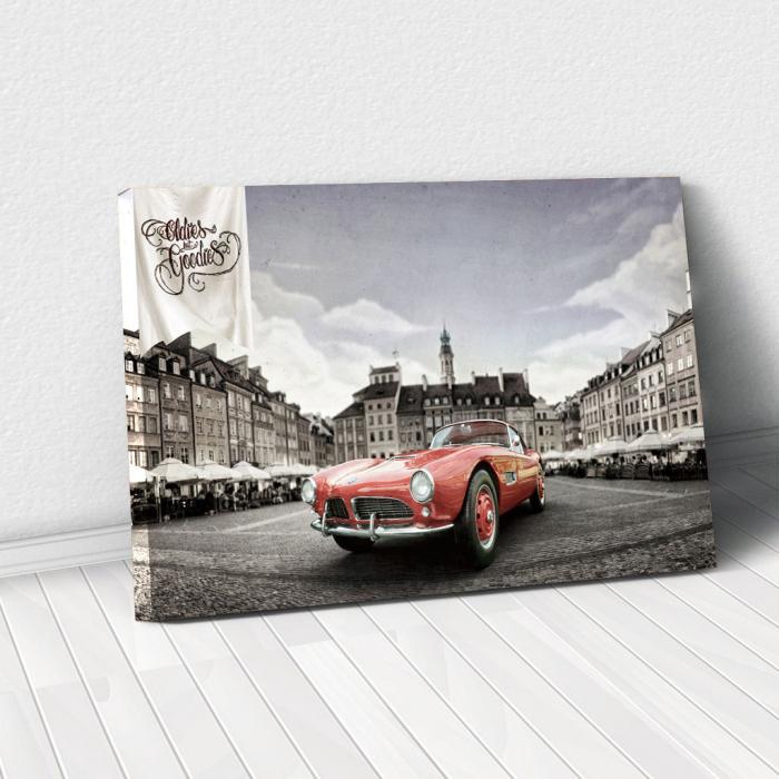 Tablou Canvas - Bmw 507 coupe 0