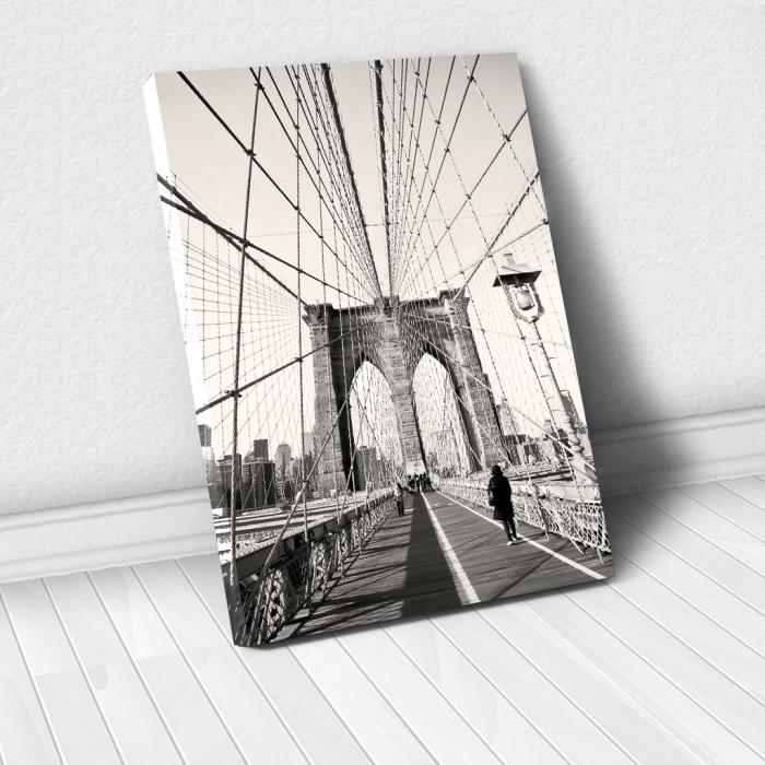 Tablou Canvas - Broklyn Bridge 0