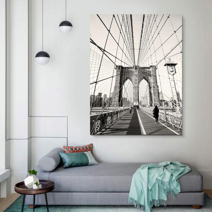 Tablou Canvas - Broklyn Bridge 3