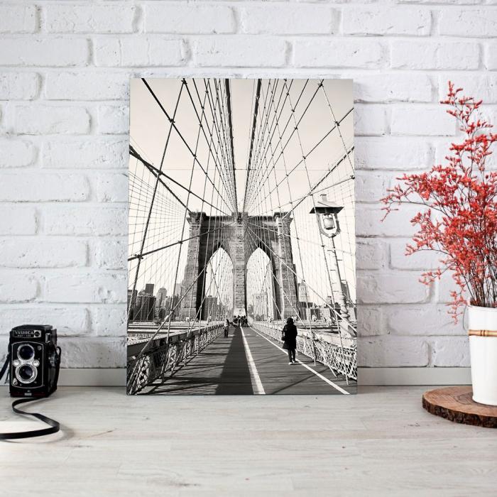 Tablou Canvas - Broklyn Bridge 2
