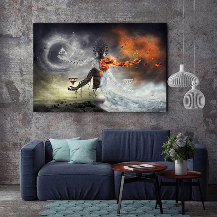 Tablou Canvas - Elemental [2]