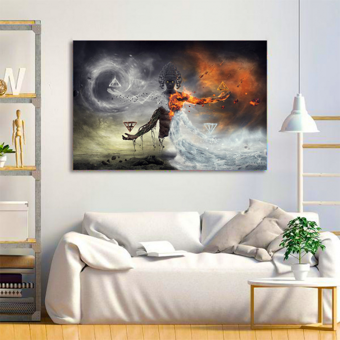 Tablou Canvas - Elemental 3