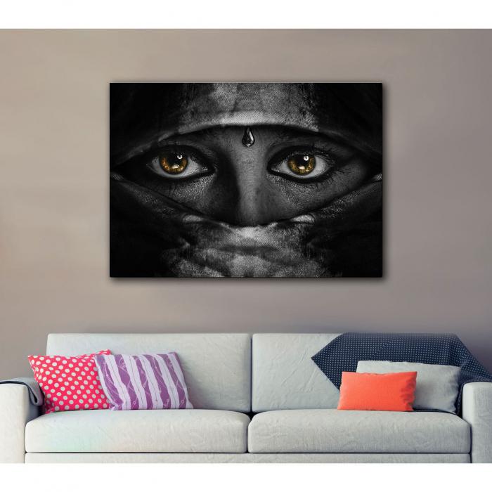 Tablou Canvas - Golden Eyes 2