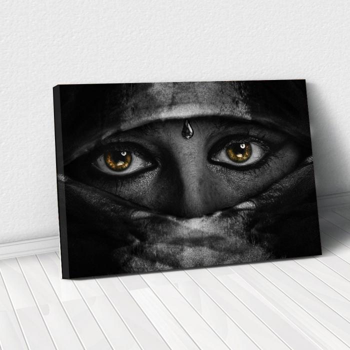 Tablou Canvas - Golden Eyes 0