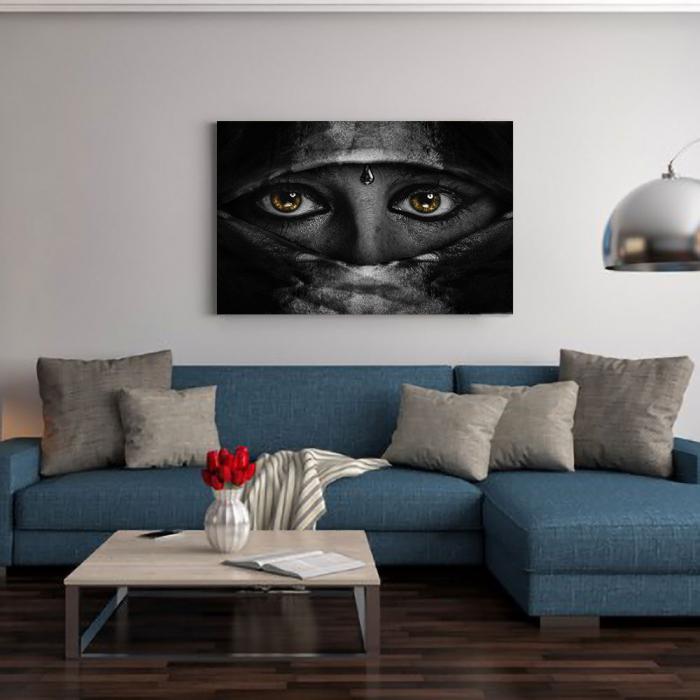 Tablou Canvas - Golden Eyes 1