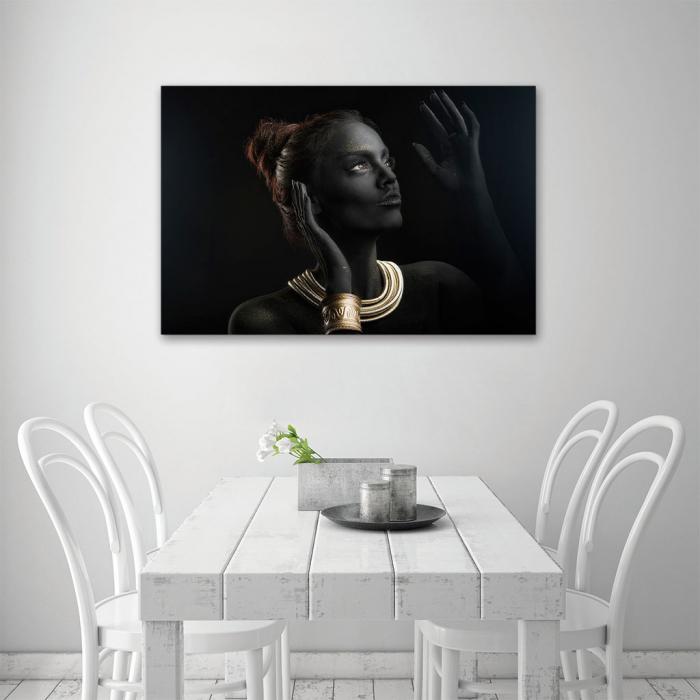 Tablou Canvas - Golden style [3]