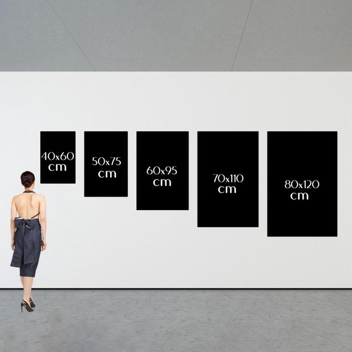 Tablou Canvas - Paint stripes sensual [4]