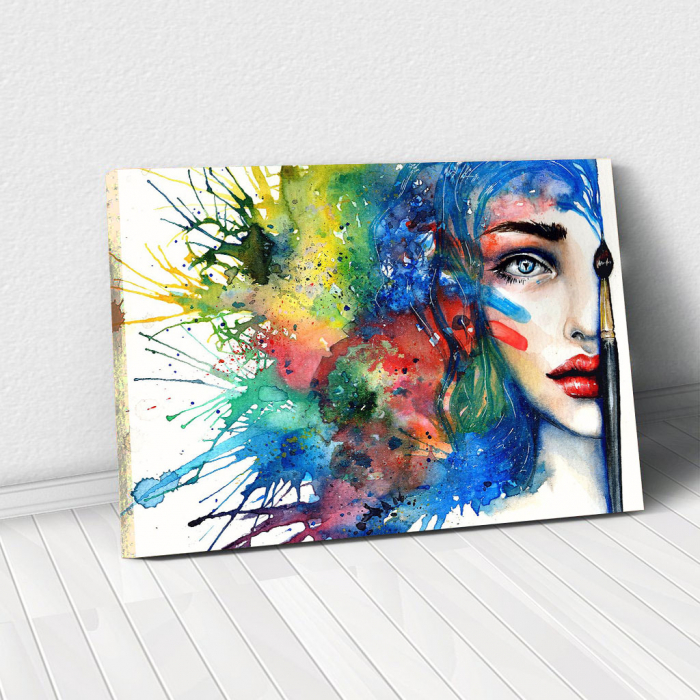 Tablou Canvas - Pictura Chip 0