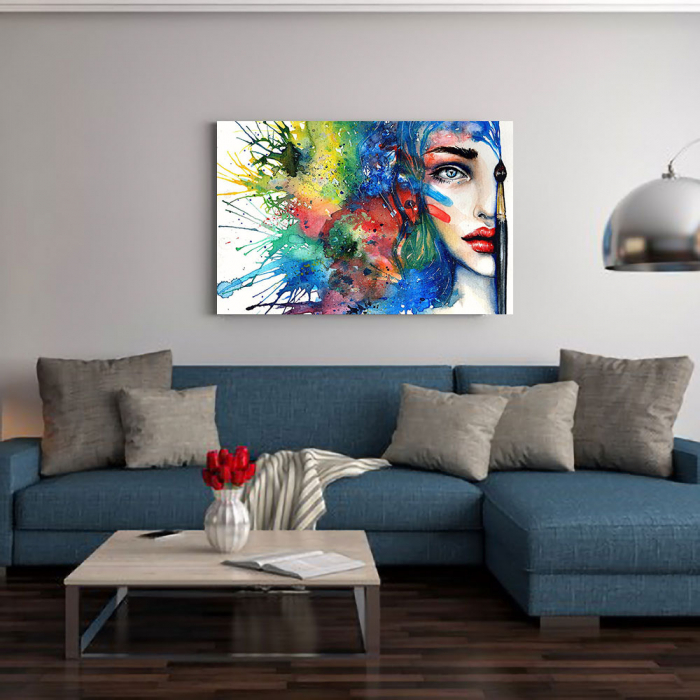 Tablou Canvas - Pictura Chip 1