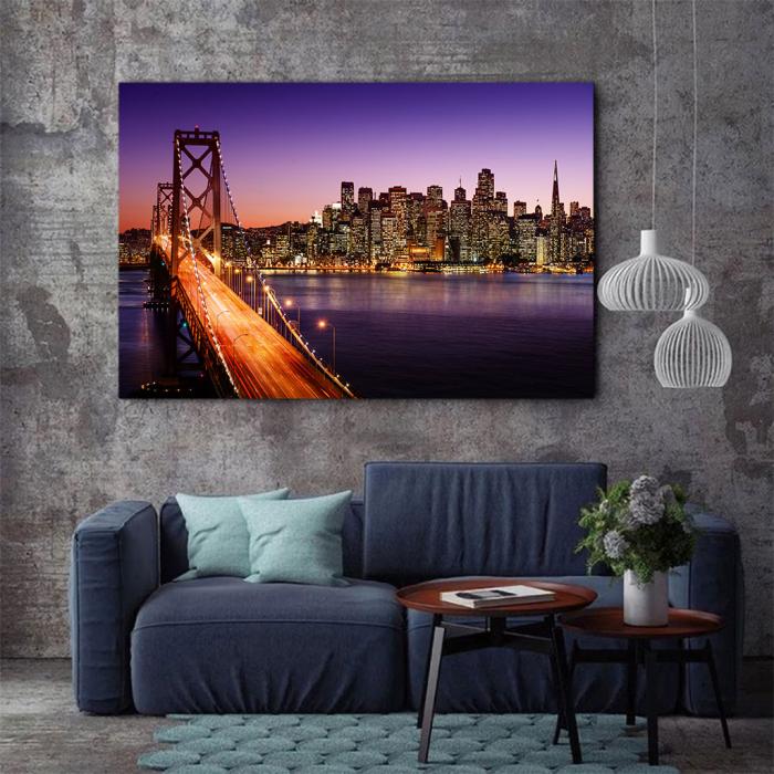 Tablou Canvas - San Francisco 2