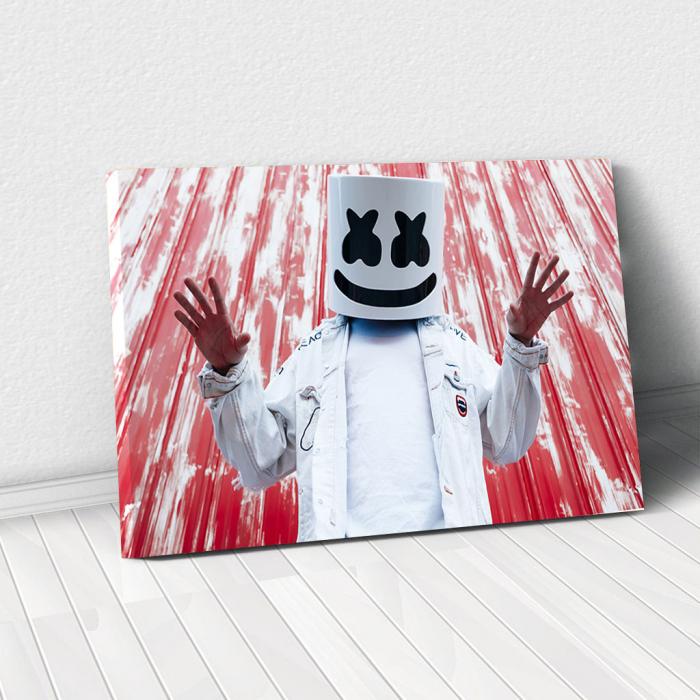 Tablou Canvas - Smiling DeadFace 0